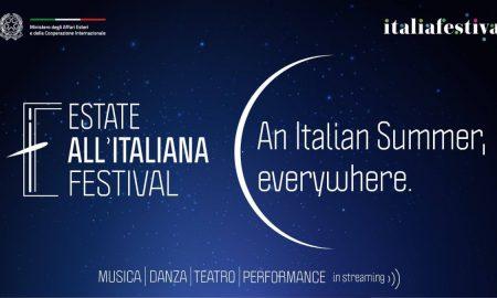 Locandina Estate all'Italiana festival
