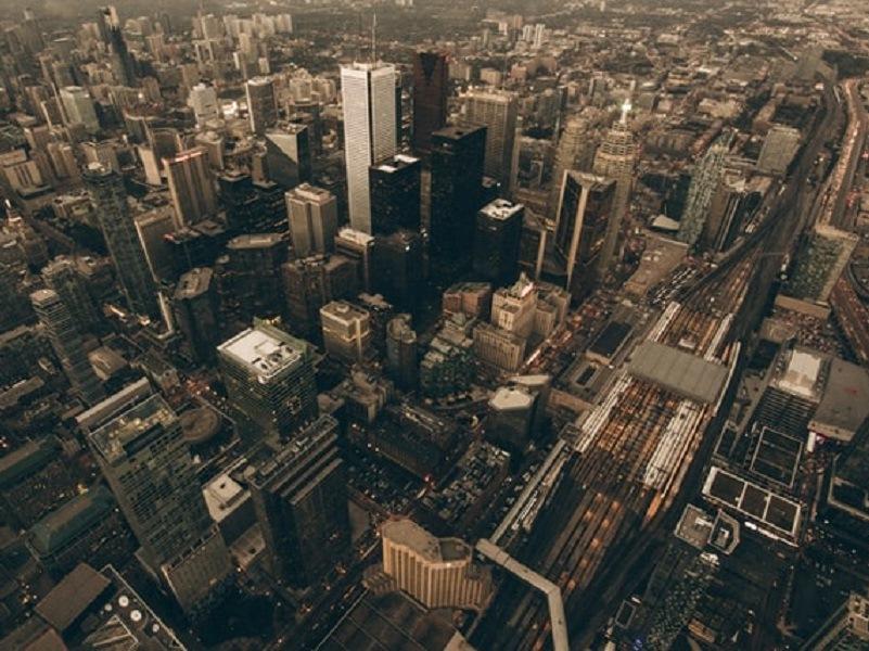 edgewalk: Vista dall'alto