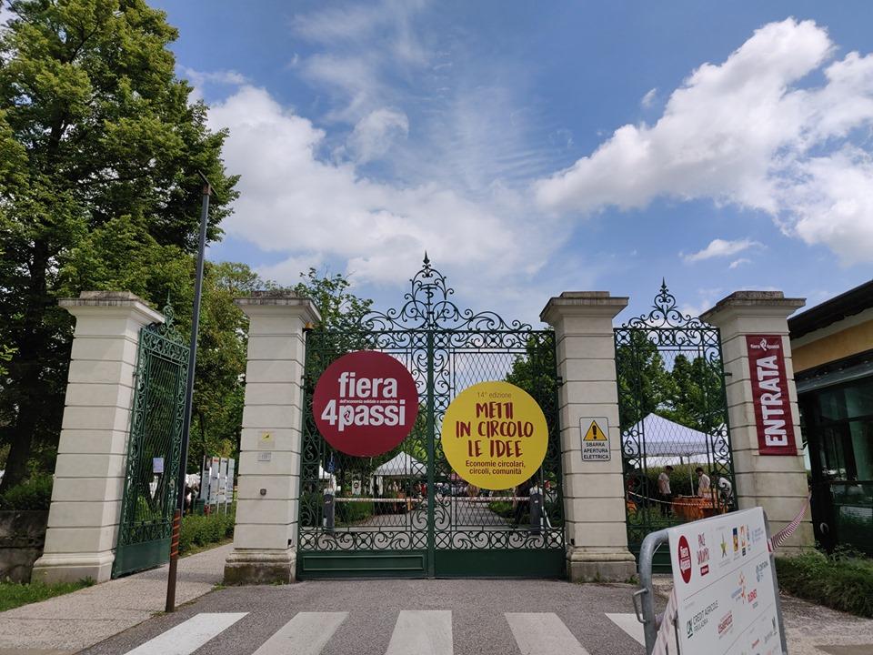 cancello d'ingresso della fiera 4passi