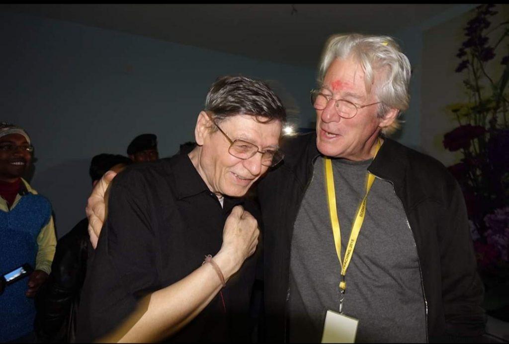 Giacomin e Richard Gere, anche lui buddista