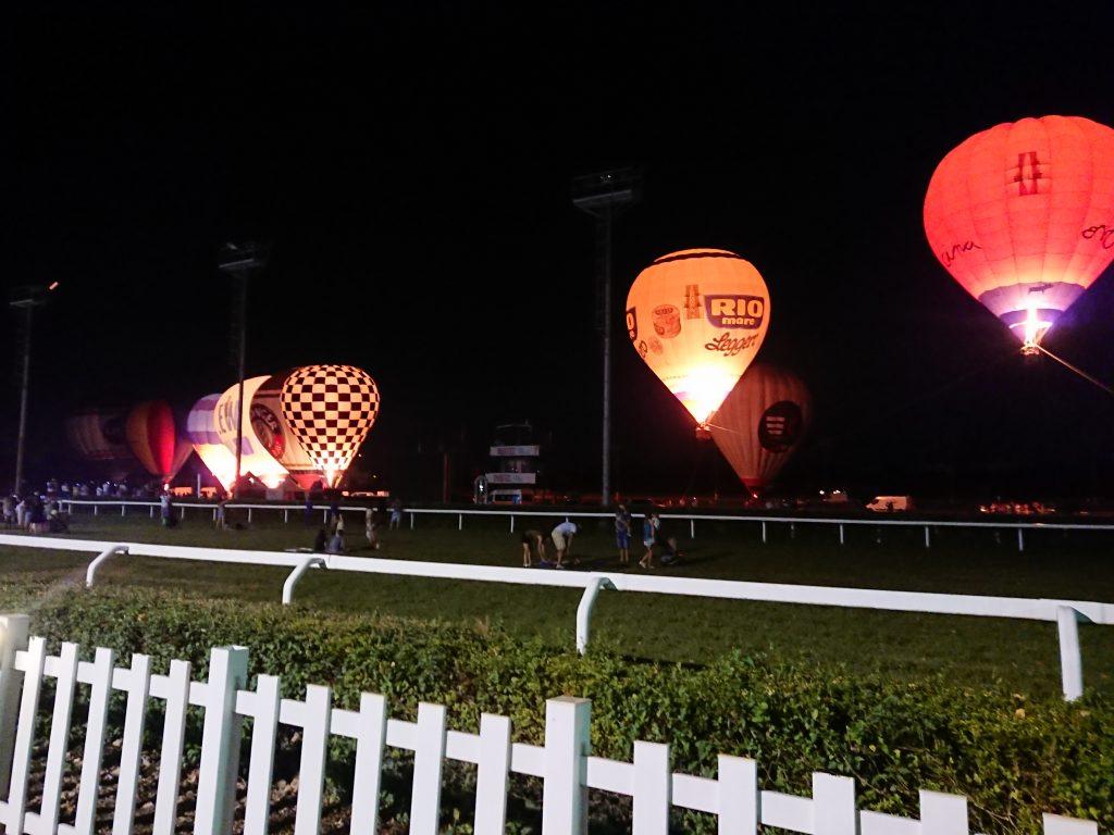 Festival Delle Mongolfiere Notte