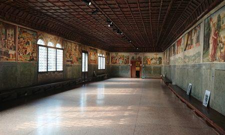 Sala Dei Battuti_sala storica di Conegliano affrescata