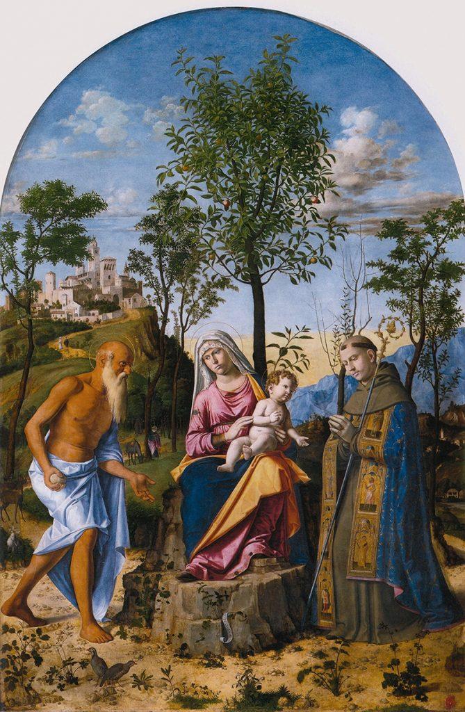 Giambattista Cima Da Conegliano Madonna Dell'arancio