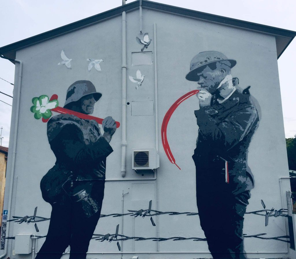 Jako Street Art Grande Guerra