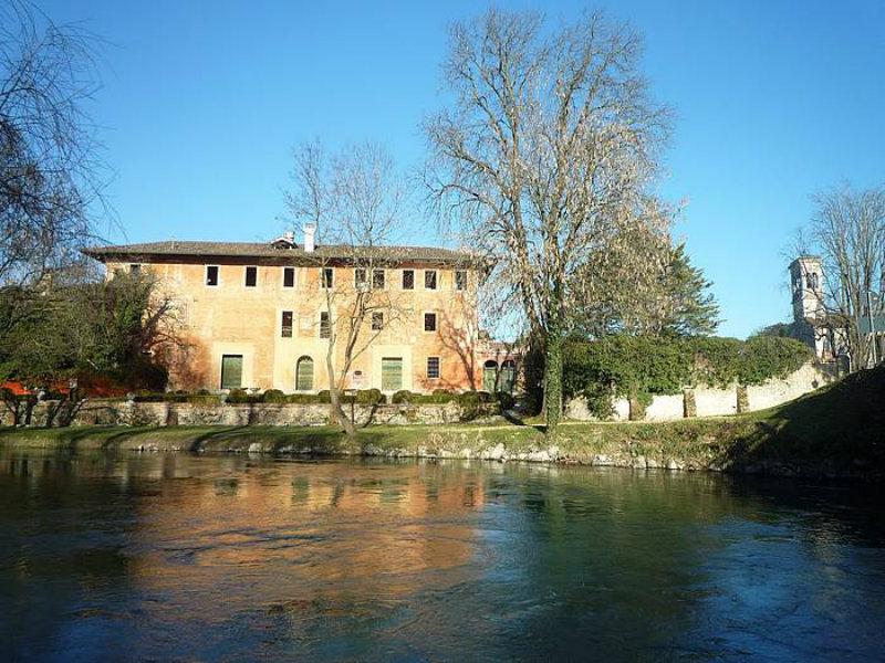 Villa Ottelio Savorgnan vista dal fiume