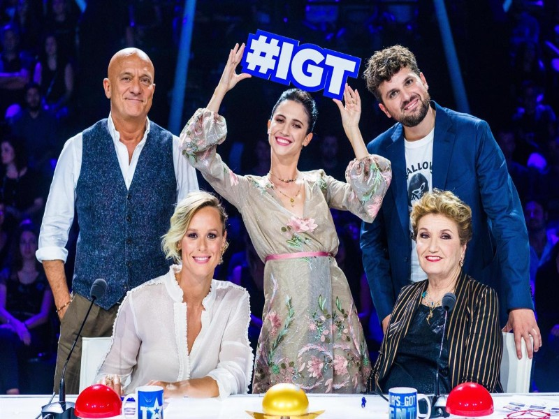 Lodovica Comello ad italia's got talent