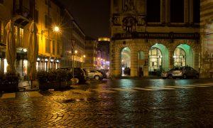 Udine di sera