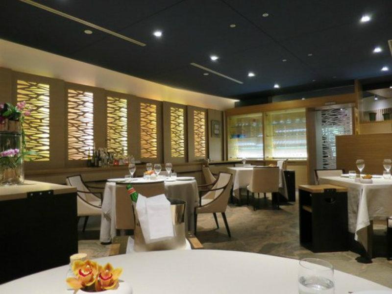 Sala del ristorante Agli Amici di Godia