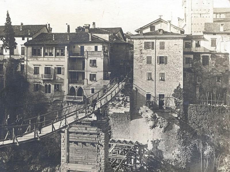 Il ponte del Diavolo di Cividale, ricostruzione