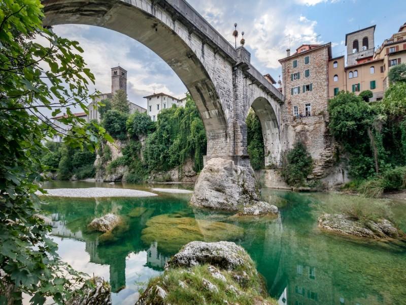 Ponte Del Diavolo di Cividale, struttura