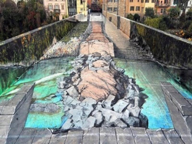 Ponte del Diavolo di Cividale, rievocazione