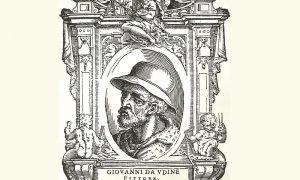 Giovanni Da Udine - litografia