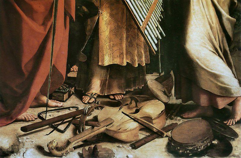 Giovanni di Udine - Particolare Dell'estasi Di Santa Cecilia Di Raffaello