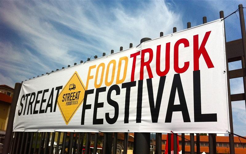 striscione dello STREEAT® Food Truck Festival