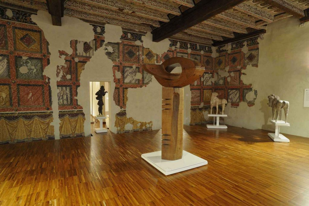 Una delle sala Basaldella di Casa Cavazzini