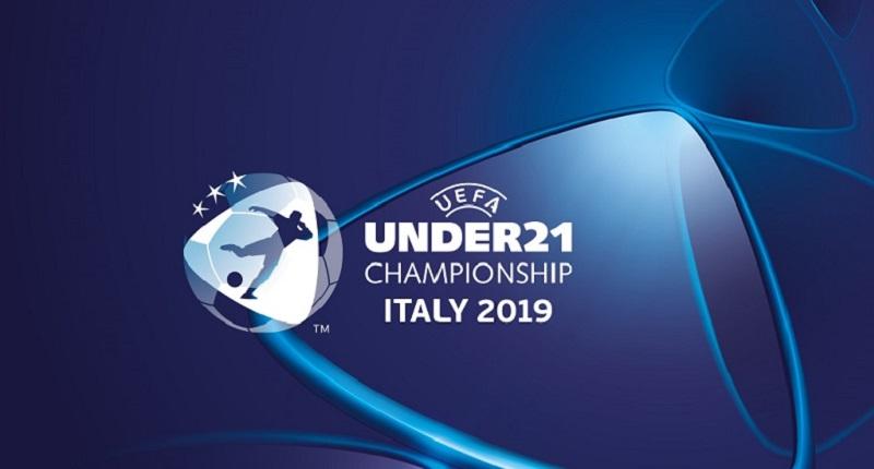 Dacia Arena - logo degli Europei di Calcio Under 21