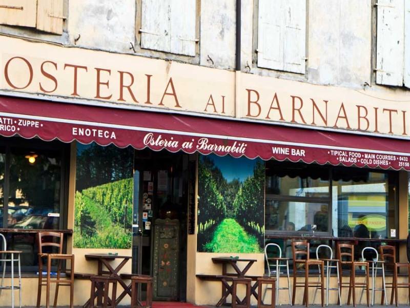 Osterie tipiche di Udine, Ai Barnabiti