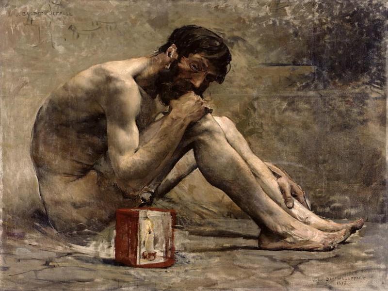 Diogene, opera di Lepage esposta a Illegio