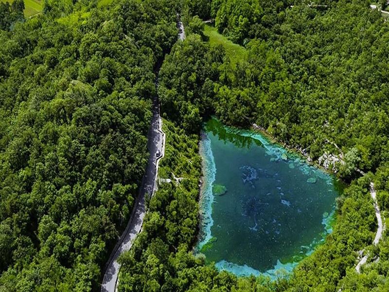 Lago Di Cornino Aerea