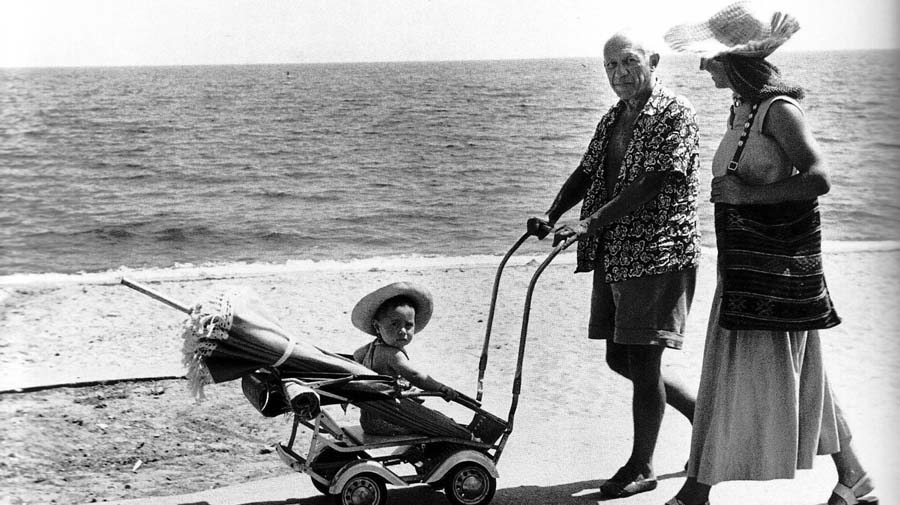 Picasso Sulla Spiaggia