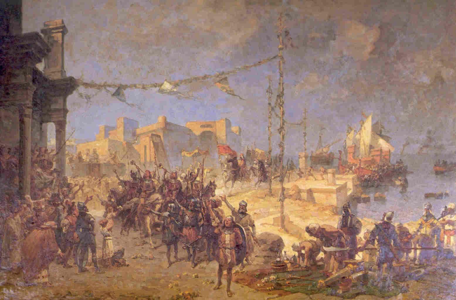 Venezia, Bari e i Saraceni – Vidua Vidue e la Sensa