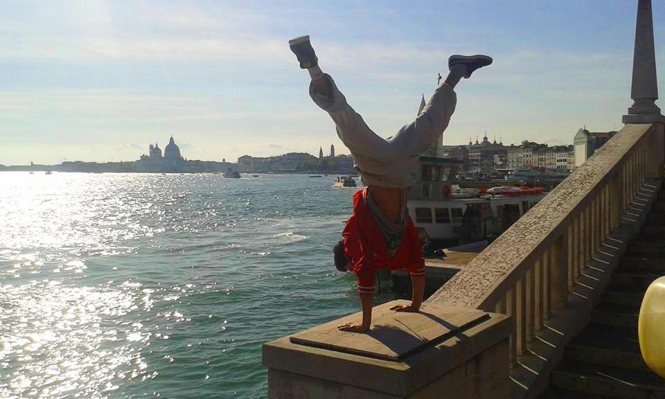 parkour venezia