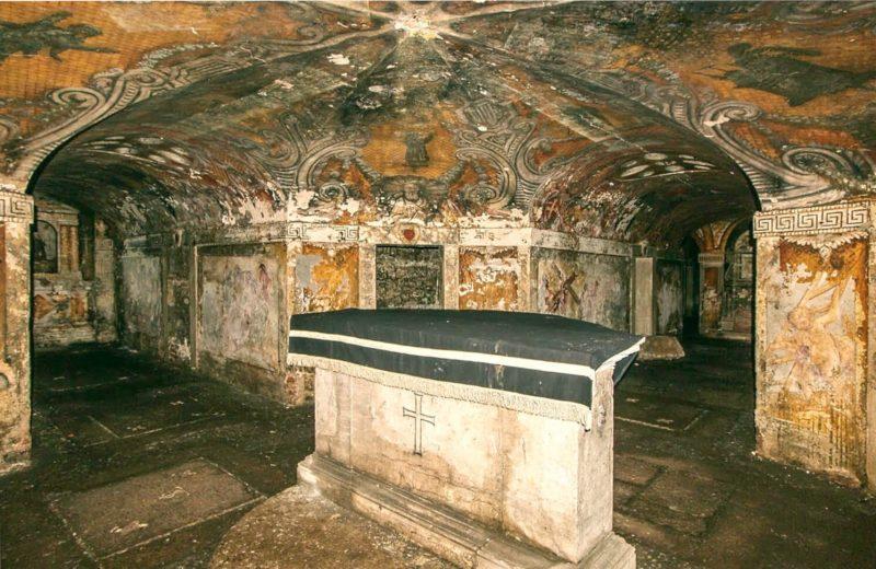 san simeon catacomba