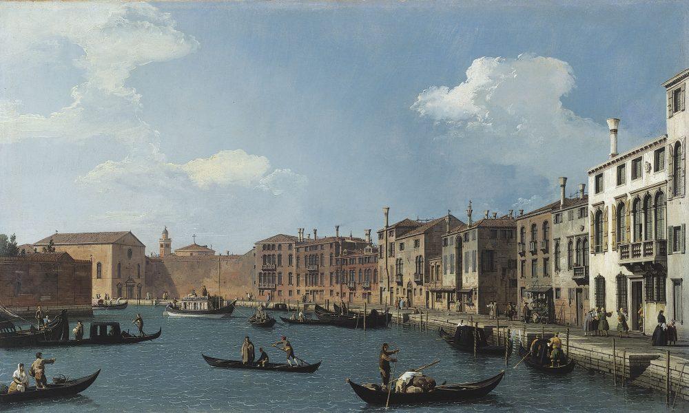 Vue Du Canal De Santa Chiara, à Venise