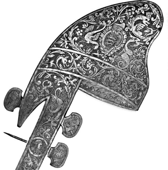 Ferro da gondola della famiglia Dolfin, esposto al Metropolitan Museum di New York.