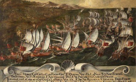 Francesco Morosini Combatte Contro I Turchi