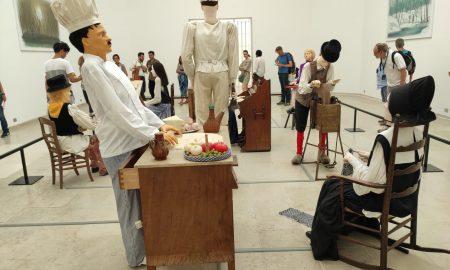 Un' oper del padiglione della Biennale