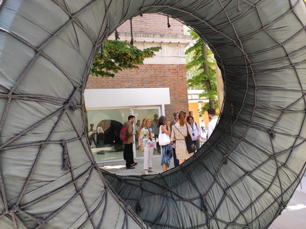 la Biennale - Un'opera d'arte