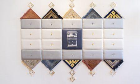 arte contemporanea del Kuwait - opera esposta in mostra