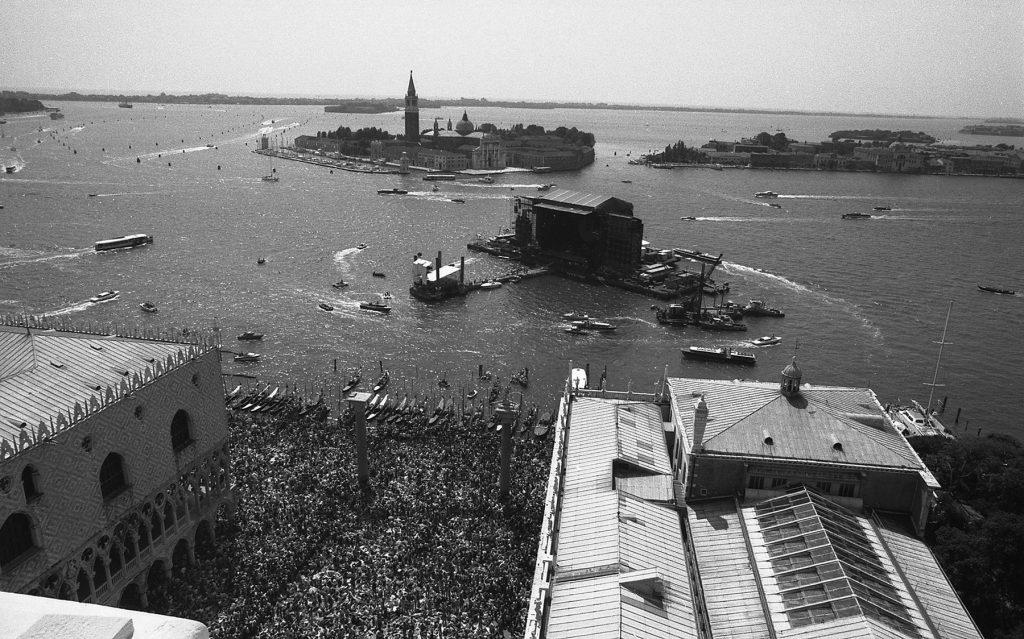 I Pink Floyd a Venezia 30 anni fa