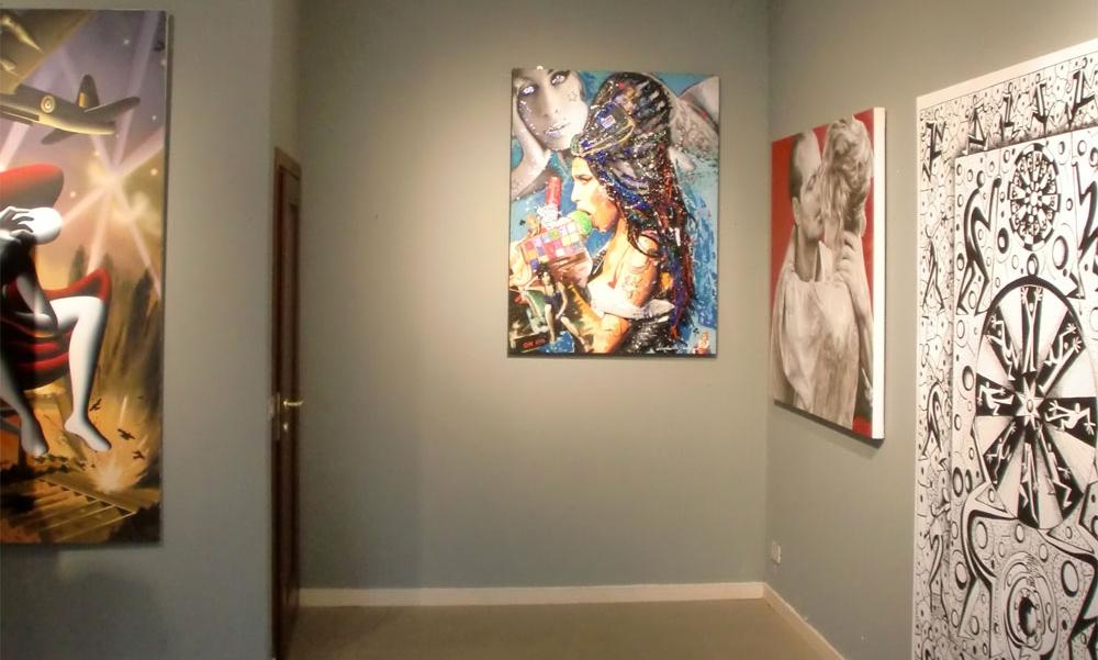Una immagine della Manni Art Gallery