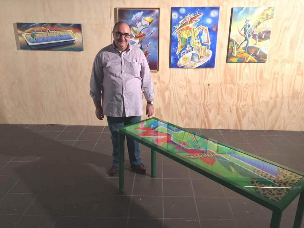 Gianfranco Sergio fra le sue opere