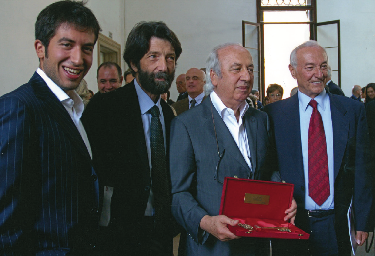 Consegna chiavi di Venezia a Giancarlo Ligabue