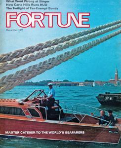 La copertina di Fortune
