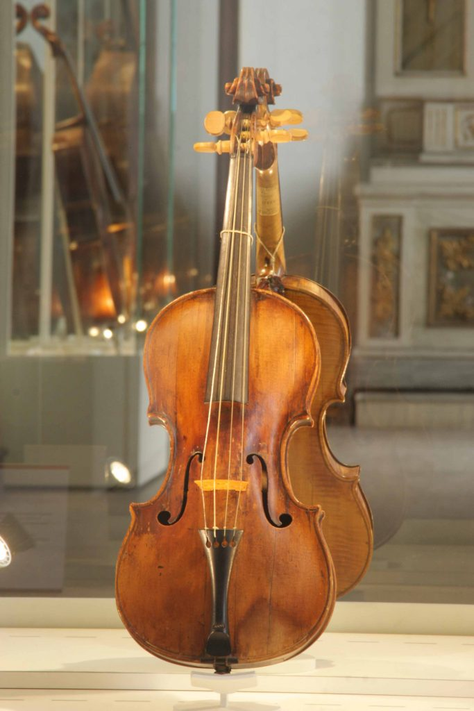 Violino Di Andrea Guarneri 1654