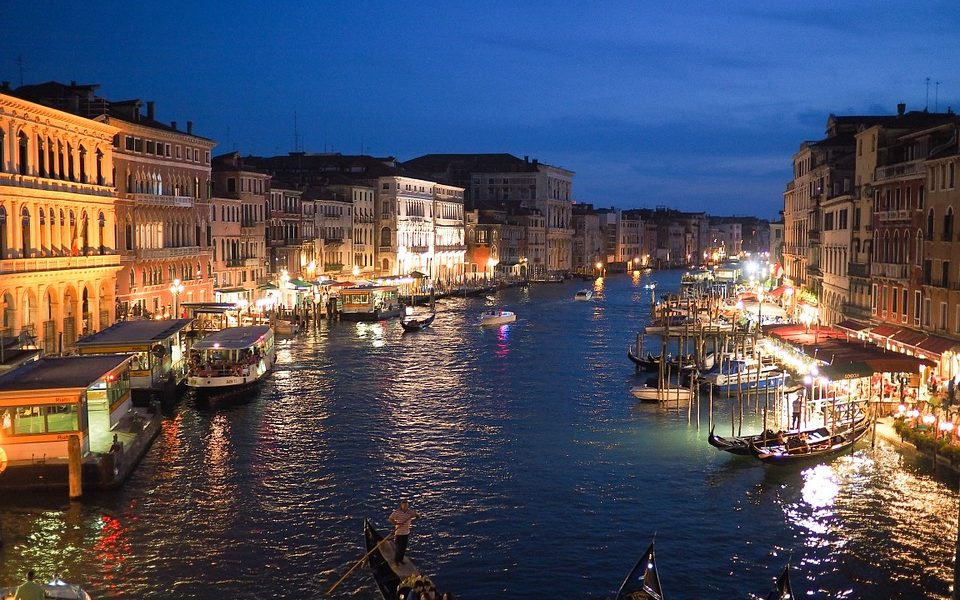 Natale A Venezia foto Copertina