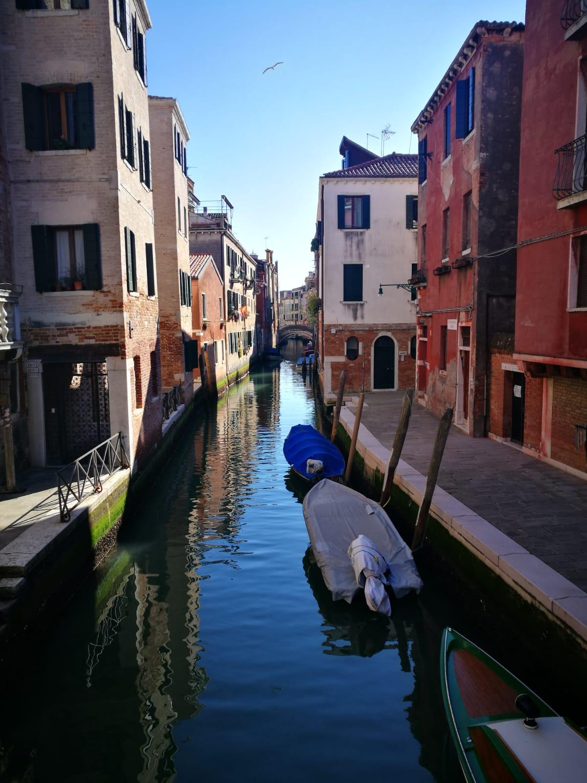 Un Canale Veneziano Deserto