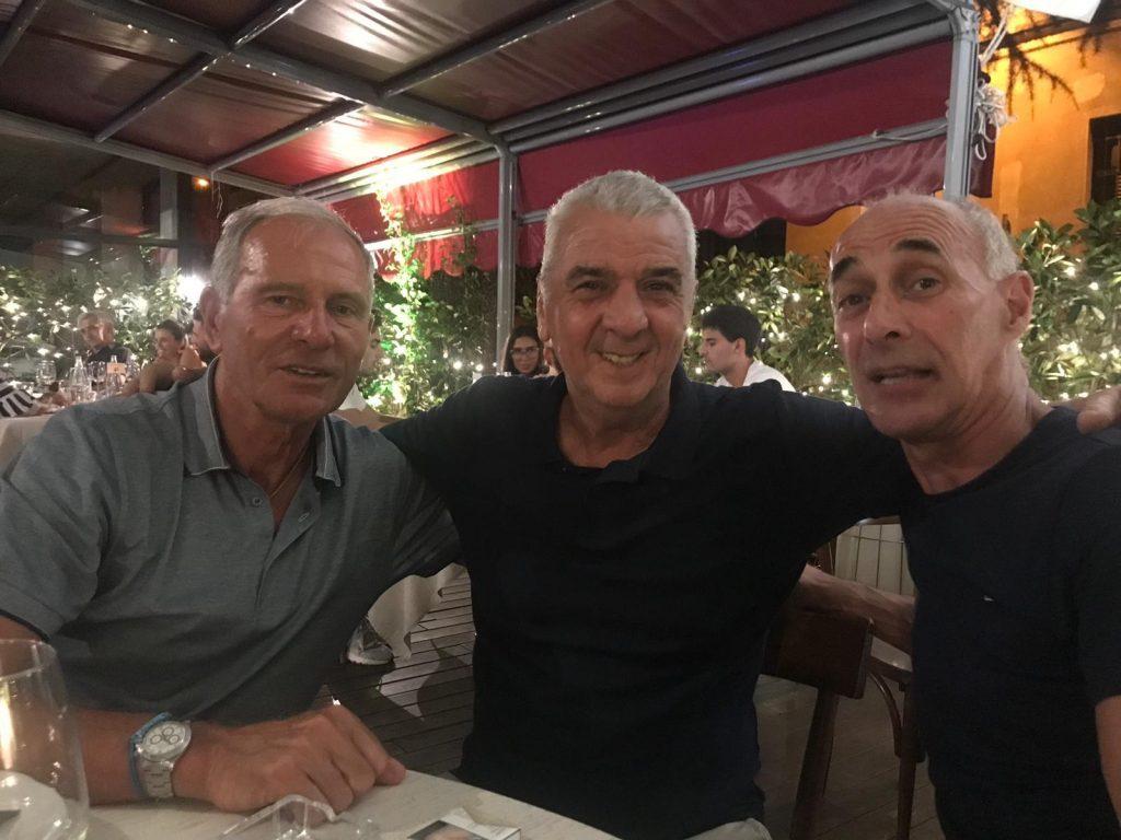 Ivano Bordon insieme a due colleghi