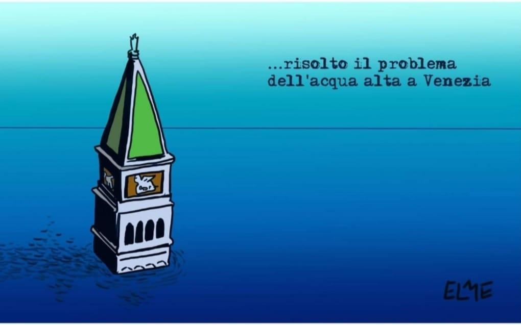 Una delle vignette realizzate a nome Elme