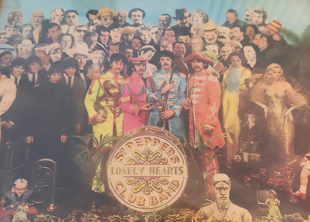 Francesco Ganzer - Dettaglio della cover di Sergent Pepper dei Beatles