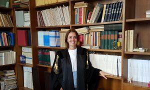L'avvocato Federica Thomas