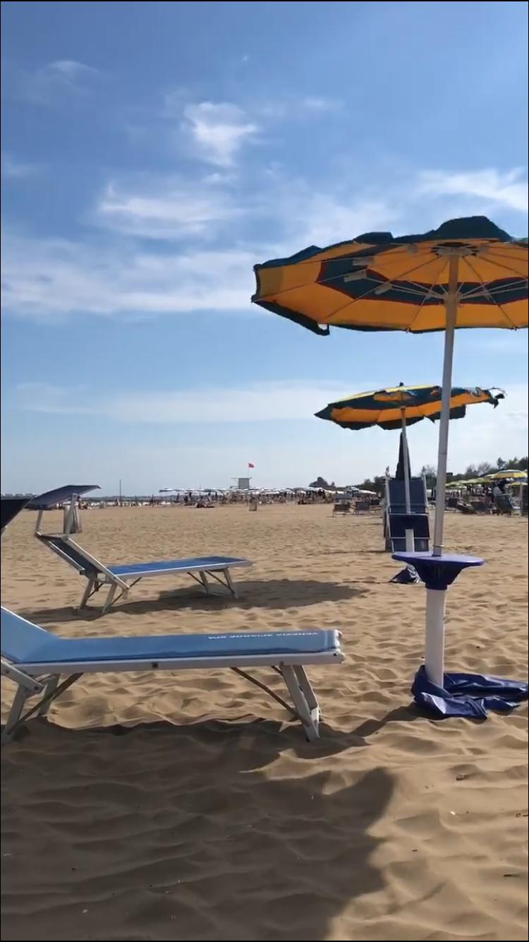 primi turisti a Venezia - Spiaggia Del Lido