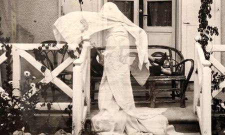 Lartigue - foto con fantasma