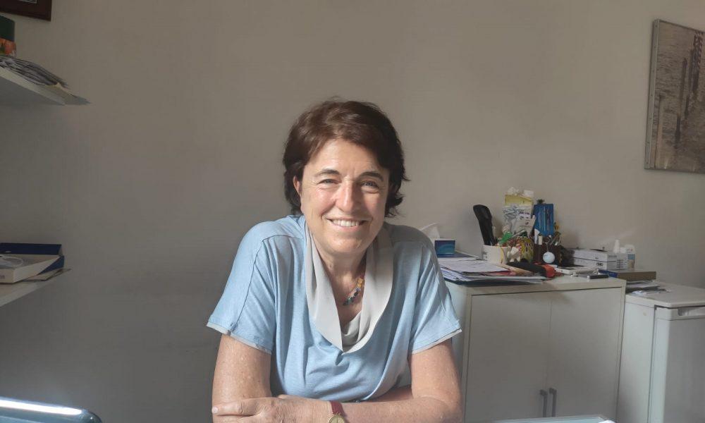La dottoressa D'Incà