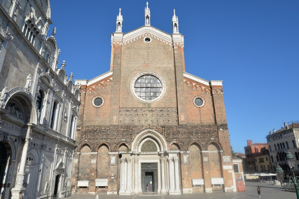 Santi Giovanni e Paolo - Facciata Basilica