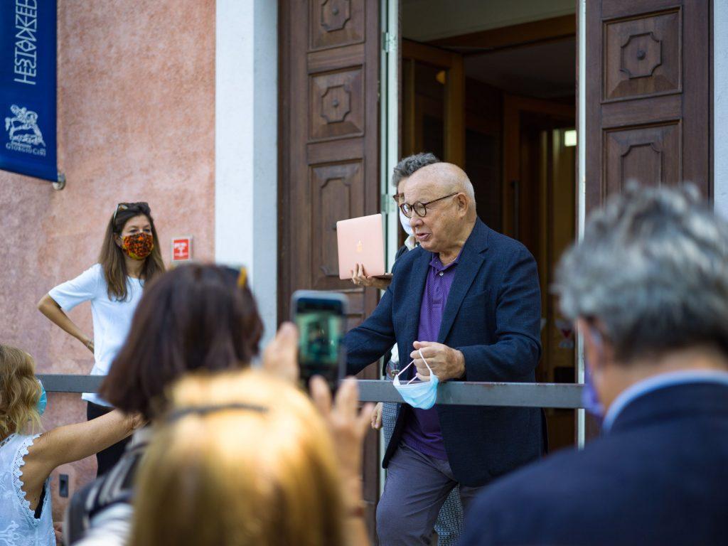 Lino Tagliapietra Alla Conferenza Stampa